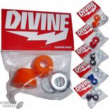 "DIVINE ""Carver"" Conical Skateboard Bushings Longboard Freeride Slide Slalom  Carve 5 Hardnesses 78a - 93a"